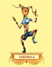 Farinella, maschera tipica del carnevale di Putignano