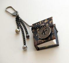 How to Make Tiny Book Charm Tutorials - The Beading Gem's Journal
