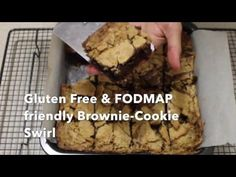 Chocolate Brownie & Cookie Swirl || Gluten Free/FODMAP friendly - YouTube