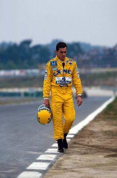 Ayrton Senna - Lotus Honda 1987