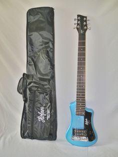 Indian Creek Guitars - Hofner Shorty Electric Travel Guitar - Blue, (http://www.indiancreekguitars.com/hofner-shorty-electric-travel-guitar-blue/)