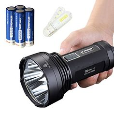 Bundle JETBeam T6 Cree XPL LED 4350 lumens 18650 Flashlight With 37v 2400mAh Battery and Skyben USB Light -- More info could be found at the image url. This is an Amazon Affiliate links.