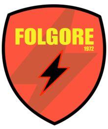 1972, S.S. Folgore Falciano Calcio (Serravalle, San Marino) #SSFolgoreFalcianoCalcio #Serravalle #SanMarino (L13510) Football Team Logos, Soccer Logo, Crests, Google, Soccer, Coat Of Arms, Europe, Madness, Family Crest