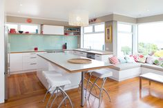 Kitchen 284 by Sally Steer Design Wellington, New Zealand.