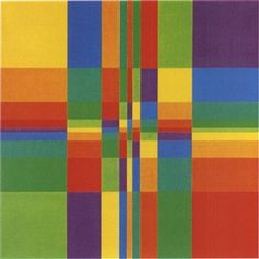 richard paul lohse / nine vertical colour sequences with horizontally and vertically increasing density / 1955-69 / oil on canvas