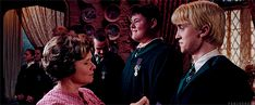 Dolores Umbridge and her Inquisitorial Squad Draco Malfoy Aesthetic, Harry Potter Aesthetic, Slytherin Aesthetic, Slytherin Pride, Hogwarts, Draco Harry Potter, Harry Potter Groups, Tom Felton, Music Pics
