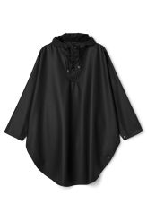 <p>The RAINS Poncho hasan elegant rounded shape, that makes a great cover for the rain and is comfortable to wear. Along the sides is button fastenings, making the poncho flexible for all situations. The hood is adjustable, and has a practical cap. </p>