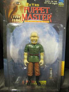 Retro Puppet Master Cyclops Retro Hits, Toy Corner, Cyclops, Puppets, Blood, Horror, Baseball Cards, Dark, Ebay