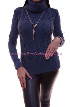 Amanda nadrág királykék Utcai nadrágok Divatos ruhák
