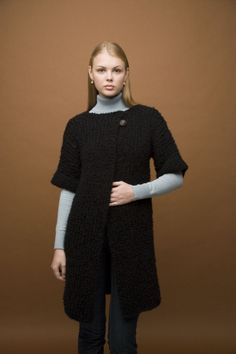 Slim Silhouette Coat free pattern
