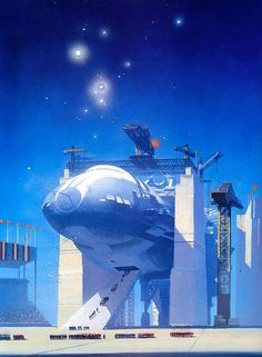 Astrona is an online collection of artists who specialize in space art, science fiction art & design. Take a journey through amazing images! Arte Sci Fi, Cyberpunk, Concept Ships, Concept Art, Fantasy Kunst, Fantasy Art, Sci Fi Kunst, Science Fiction Kunst, Beyond The Horizon