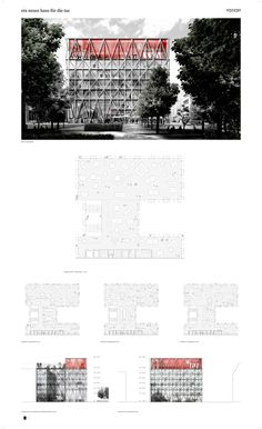 "E2A Eckert Eckert Architekten — ""die Taz"" headquarters — Image 9 of 10 - Europaconcorsi"