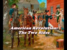 History Brief: American Revolution, the Two Sides - YouTube