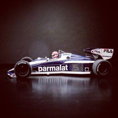 Nelson Piquet 1983 Fila Sport #bmw #brabham #formula1