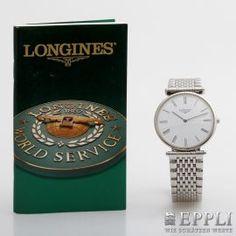 """LONGINES Herrenuhr """"La Grande Classique de Longines"""". Edelstahl. Ref.: L4.635.4."""