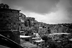 A view of the crime-ridden and violent slum of Petare in Caracas, Venezuela, considered to be the largest slum in South America. Charles Mostoller Photography