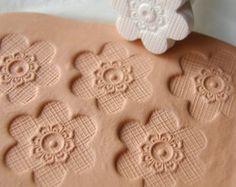 Argile Texture outil boule petite Sculpture au par GiselleNo5