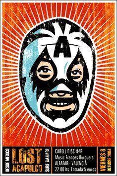 lucha libre poster - Google Search