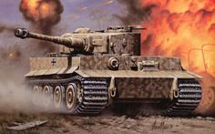 Tiger BFD Military Art, Military History, Tank Wallpaper, Tank Armor, Tiger Ii, War Thunder, Tiger Tank, Tank Destroyer, Armored Fighting Vehicle