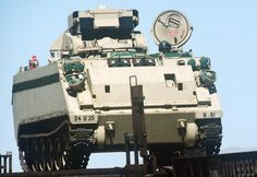 Picture of the M901 ITV (Improved TOW Vehicle)