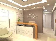 Snotty Dental Office To Get Dental Office Decor, Medical Office Design, Clinic Interior Design, Clinic Design, Corporate Office Design, Small Reception Desk, Cabinet Medical, Office Entrance, Dental Design