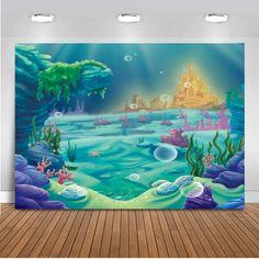 Bad-bildschirme Umweltfreundliche Dusche Vorhang Waschbar Transparent Ozean Meer Fisch Bad Decor Wasserdicht Neueste Technik