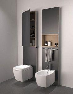 bcca8f2ef Sanitarios de baño / Diseño sanitarios baño / Inodoros de baño / Bide de  baño / sanitarios baño suspendidos: Bloque de Inodoro y bidet formando un  un ...