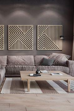 Large Wood Wall Art, Rustic Wall Art, Rustic Walls, Wooden Walls, Wooden Wall Design, Wood Art, Wood Panel Walls, Panel Wall Art, Wall Art Sets