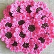 Gehaakte bloemen: leuk voor van alles!