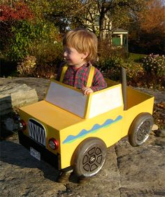 monster-truck make your own costume for kids.... as a fun craft idea at a party or something????