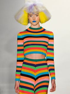Runway fashion inspired by 90s kids... NOBODY LOOKED LIKE THIS, STUPIDS
