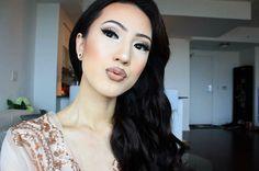 """Reposting @lifeofrosierose:  ... """"😘"""" #m21lashes #mua #makeupartist #falseeyelashes #model21eyelashesinc 💞"""