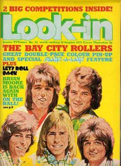 August 1975, Bay City Rollers.