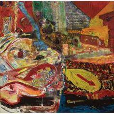 Jorge Guinle<br>Óleo sobre tela<br>190 x 190 cm<br>