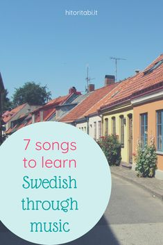 7 Awesome Songs to Learn Swedish Through Music Seven awesome songs to learn Swed. - 7 Awesome Songs to Learn Swedish Through Music Seven awesome songs to learn Swedish through music a - Swedish Songs, Learn Swedish, Awesome Songs, Best Songs, Around The World In 80 Days, Around The Worlds, Swedish Language, Scandinavian Folk Art, Sweden Travel
