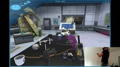 "Game Quest Poznań - HTC VIVE ""The Lab"" VR"