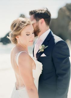 Beach weddings, Big Sur beach wedding, Bridal hair, Bridal makeup, Big Sur wedding Hair and Makeup Hair & Makeup: Rhonda Johnson www.bridalmakeupandhair.com