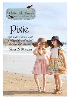Pixie de Violette Field Threads de 2 à 10 ans