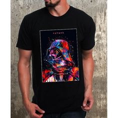 Abstract darth vader t shirt, shirt, gifts for him, birthday gift, star wars, gifts for boys, active wear, t shirt designs, graphic tees