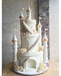 Lovely Sand Castle cake