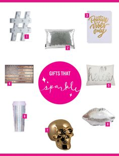 Shop Gifts That Sparkle | Looking for gifts for your girly girl friends? Shop these picks on dormify.com