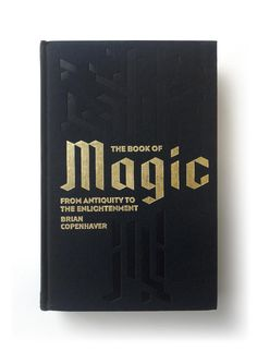The Book of Magic cover design by Matthew Young (Penguin Classics / 2015)