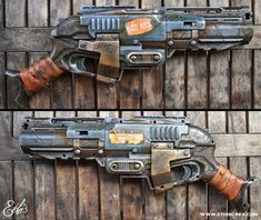 Ethis Crea: Nerf Sledgefire badass custom