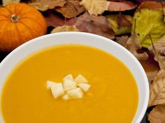 Did you know Silk® has a ton of Smoothie Solutions, like thisCreamy Butternut Squash and Apple Soup?
