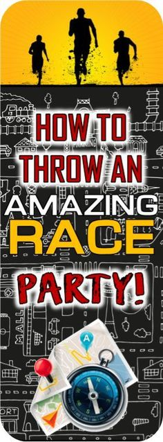Christmas Party Ideas For Teens - Amazing Race party ideas! Includes free ideas for clues, pit stops, roadblock an.