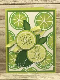 Suitably Stamped: Live with Zest! Stampin' Up  Lemon Zest Bundle from comes with a coordinating Lemon Builder Punch