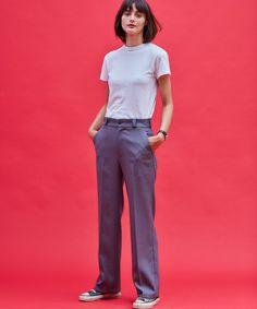 センタープレスパンツ(スラックス)|THE SHINZONE(ザ シンゾーン)のファッション通販 - ZOZOTOWN