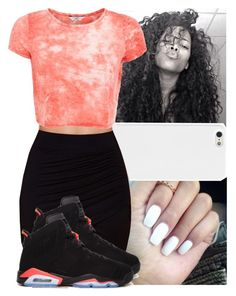 """""""FUEGO """" by naebreezy ❤ liked on Polyvore featuring Lush and Retrò"""