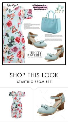 """Rosegal"" by merisa-imsirovic ❤ liked on Polyvore"