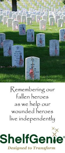 ShelfGenie remembers those that gave their life in service to their country.